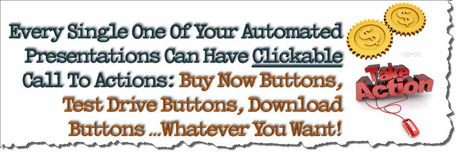 Automate your marketing with clickable call-to-action buttons